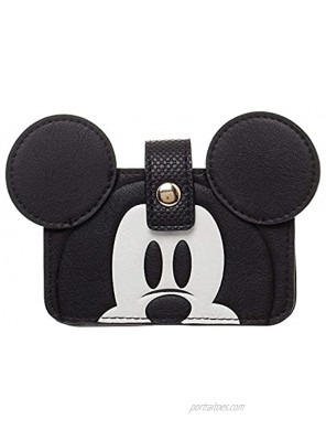 Disney Mickey Mouse Leather Snap Wallet