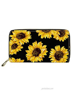 Mumeson Boho Style Women Travel Wallet Long Coin Purse Clutch Cell Phone Case