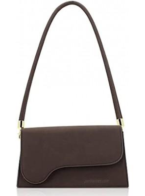 TANOSII Retro Classic Clutch Purse Women Shoulder Handbag With Removable Straps Crossbody Bag