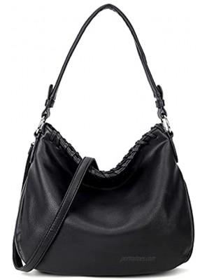 Yooumoga Fashion Hobo Bags for Women Large Leather Top Handle Handbag Women Crossbody Bag Purse Ladies Hobo Style Handbags