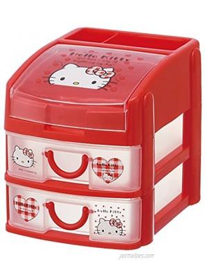 minityesuto Wristlet 2Drawers Hello Kitty Sanrio che3N