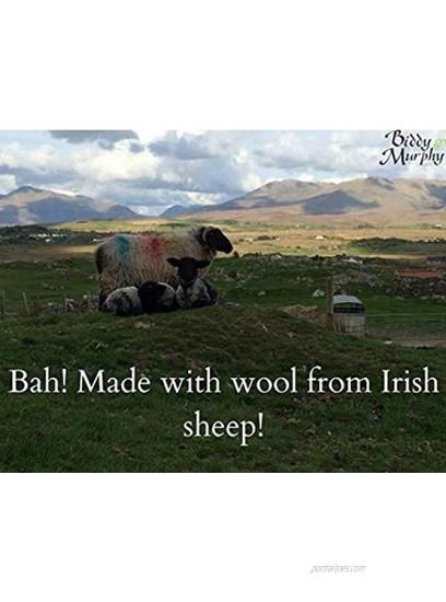 Biddy Murphy Ireland Purse Silver Celtic Knot Wool Irish Made