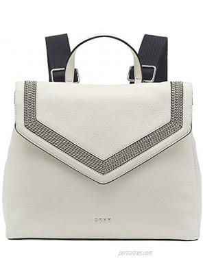 DKNY Multipurpose Fashion -Backpack White Ziggy