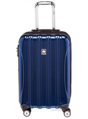 DELSEY Paris Helium Aero Hardside Expandable Luggage with Spinner Wheels Blue Cobalt Carry-On 21 Inch