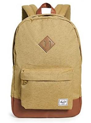 Herschel Supply Co. Men's Classics Heritage Backpack Coyote Slub Tan One Size