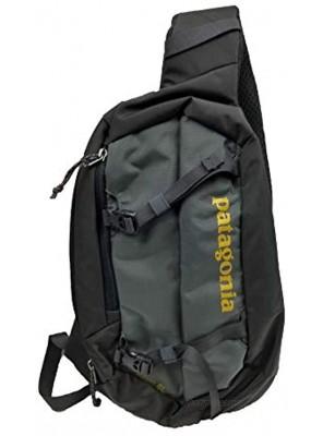 Patagonia Atom Sling 8 Liter Bag Forge Grey Textile Green