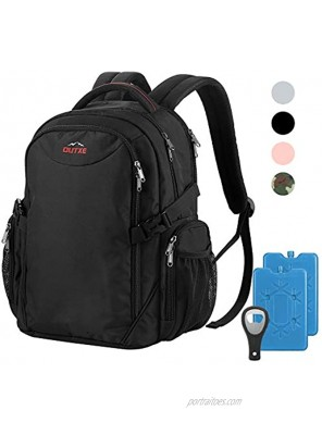 """OUTXE Cooler Backpack 22L Insulated Cooler Bag for 14"""" Laptops Lunch Backpack for Work School Daily Backpack"""