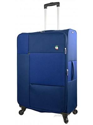 Mia Toro Italy Tordino Softside 28 Inch Spinner Blue One Size