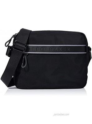 Ted Baker Men's MEGTRON Crossbody Bag Black One Size