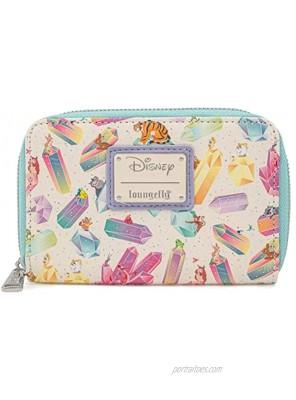 Loungefly Disney Crystal Sidekicks Zip Around Wallet