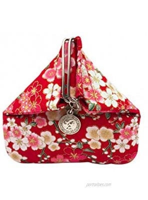 BARbee Magnetic Button Triangle Coin Purse Change Pouch Bag Card Holder
