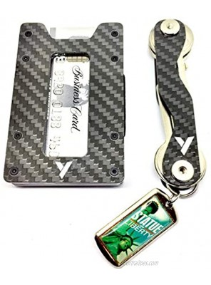 Minimalist Wallet and Card Holder | Smart Key Organizer | Gift for Men and Women