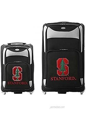 NCAA Stanford Cardinal 2-Piece Luggage Set