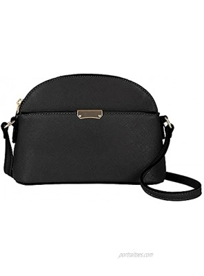 EMPERIA Small Cute Faux Leather Dome Series Crossbody Bags Shoulder Bag Purse Handbags for Women