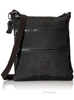 Kipling Keiko Mini Crossbody Bag Black Noir 8L x 9H x 1.25D