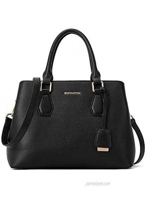 BOSTANTEN Women Leather Handbag Designer Top Handle Satchel Shoulder Tote Bags Crossbody Purses