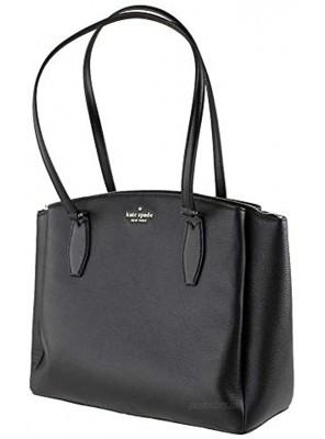 Kate Spade New York MONET LARGE TRIPLE COMPARTMENT TOTE Women's Leather Handbag black