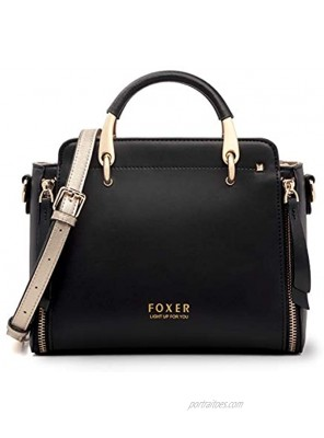 Leather Handbags for Women Ladies Top-handle Bags with Adjustable Strap